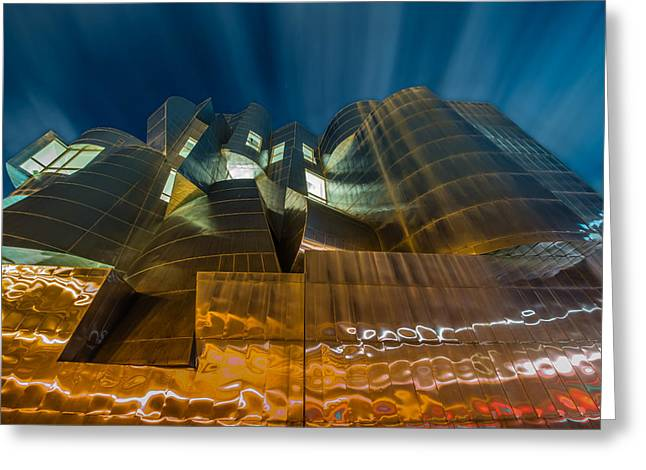 Weisman Art Museum Greeting Card by Mark Goodman