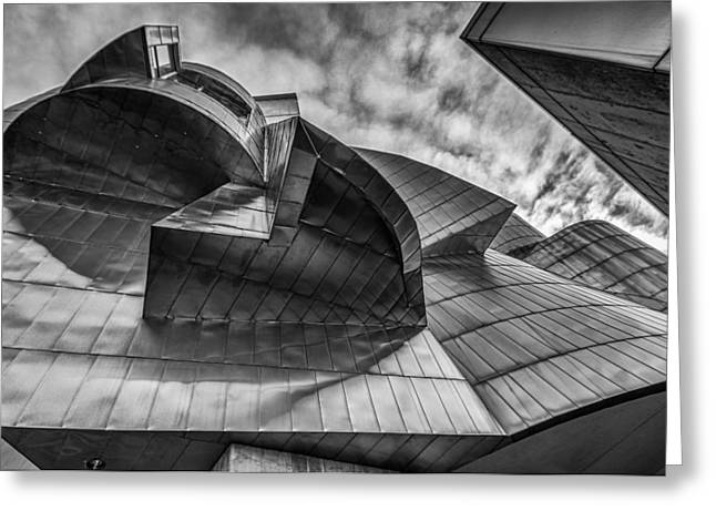Deconstructed Greeting Cards - Weisman Art Museum Greeting Card by Tom Gort
