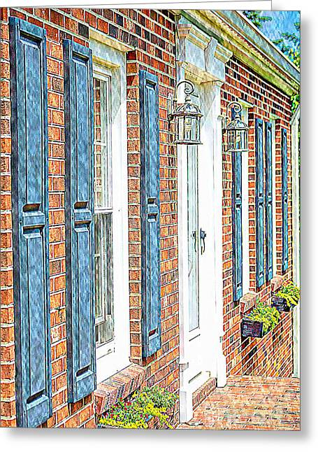 Frontdoor Greeting Cards - Welcome Home Greeting Card by Steve Kelley