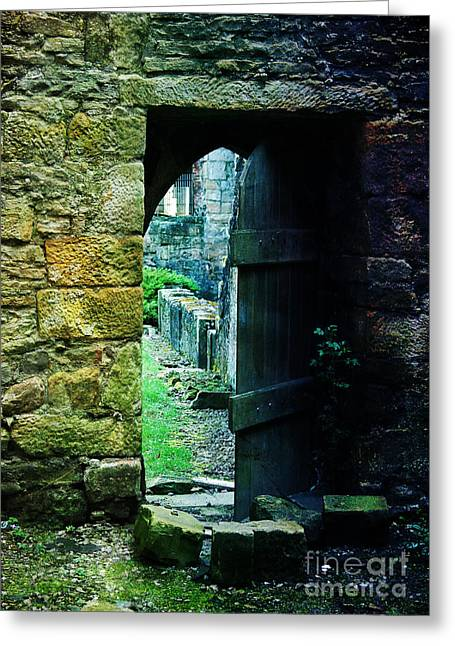 Photographic Art For Sale Greeting Cards - Welcome Inside Greeting Card by Randi Grace Nilsberg