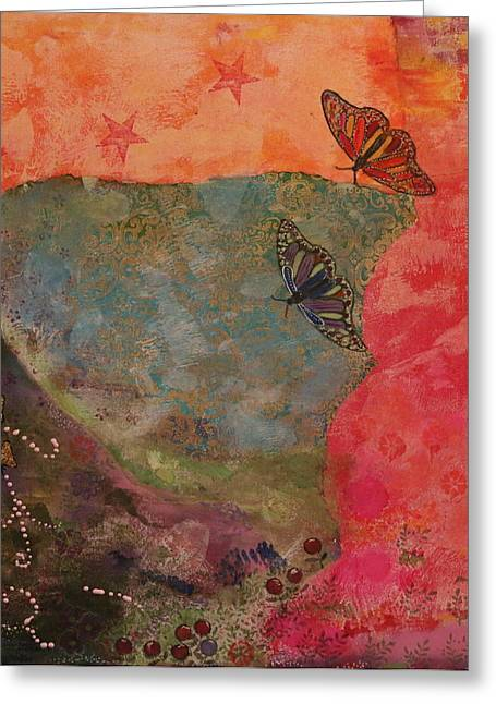 Welcome Spring Greeting Card by Shakti Chionis