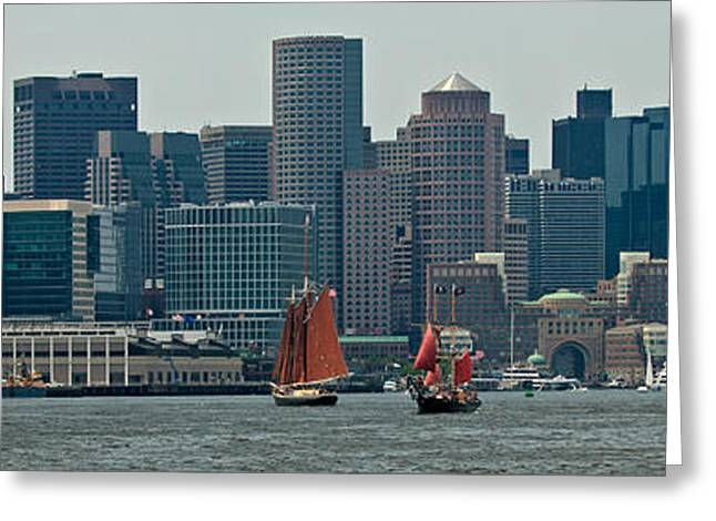 Boston Ma Greeting Cards - Welcome to Boston Greeting Card by Paul Mangold