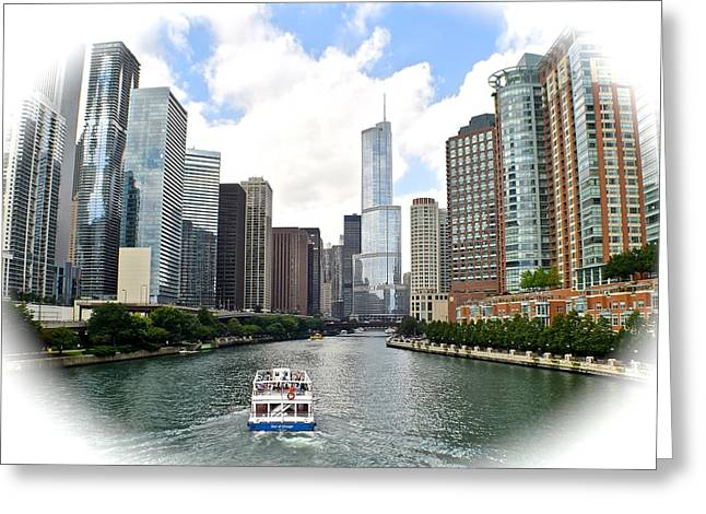 Advancement Greeting Cards - Welcome to Chicago Greeting Card by Frozen in Time Fine Art Photography