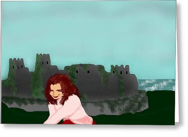 Tori Amos Greeting Cards - Welcome To England Greeting Card by Stephen Zajchowski