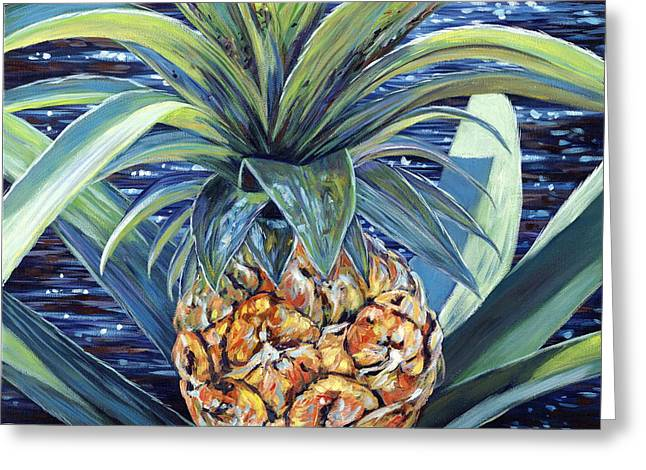 Danielle Perry Paintings Greeting Cards - Welcome to my World Greeting Card by Danielle  Perry