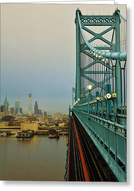 Philadelphia Greeting Cards - Welcome to Philly Greeting Card by Benjamin Yeager