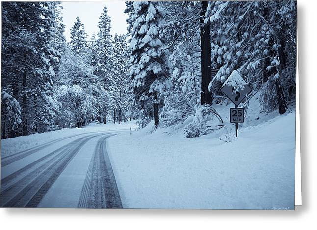 Roadway Greeting Cards - Well Be There Soon Greeting Card by Heidi Smith