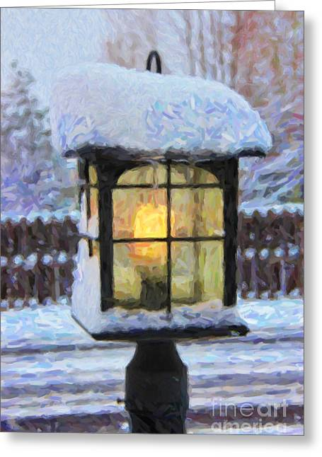We'll Leave The Light On For You Greeting Card by Jon Burch Photography