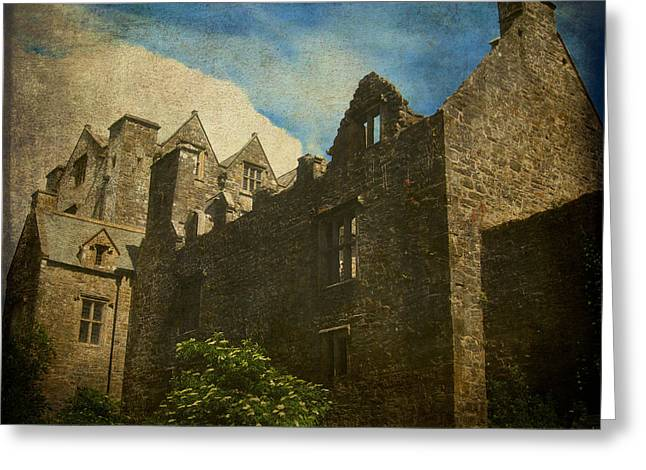 Historic Home Greeting Cards - Well Seasoned Greeting Card by Kandy Hurley