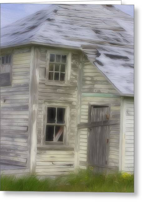Up For Repairs Greeting Cards - Well Worn 7 Greeting Card by Patsy Zedar