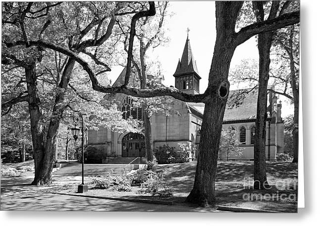 Special Occasion Greeting Cards - Wellesley College Houghton Chapel Greeting Card by University Icons