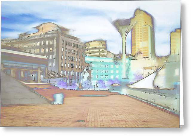 City Art Greeting Cards - Wellington Greeting Card by Tom Gowanlock