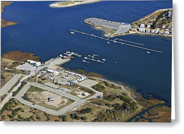 Wells Boat Launch, Wells Greeting Card by Dave Cleaveland