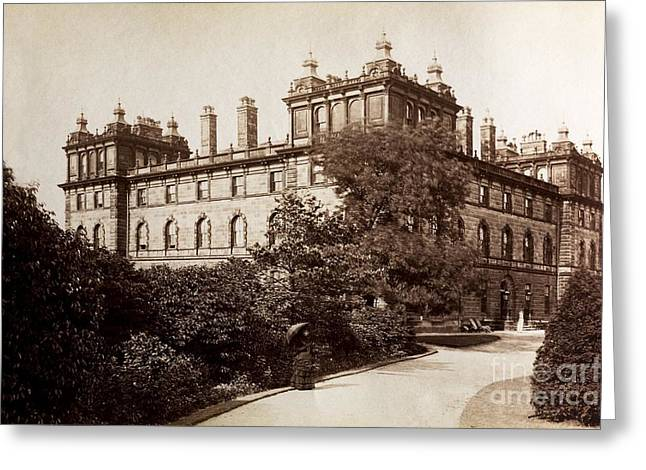 Hydropathy Greeting Cards - Wells House Hydropathic Establishment Greeting Card by Paul D. Stewart