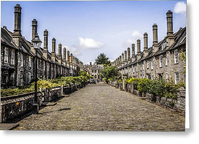 Localities Greeting Cards - Wells in Somerset Greeting Card by Chris Smith