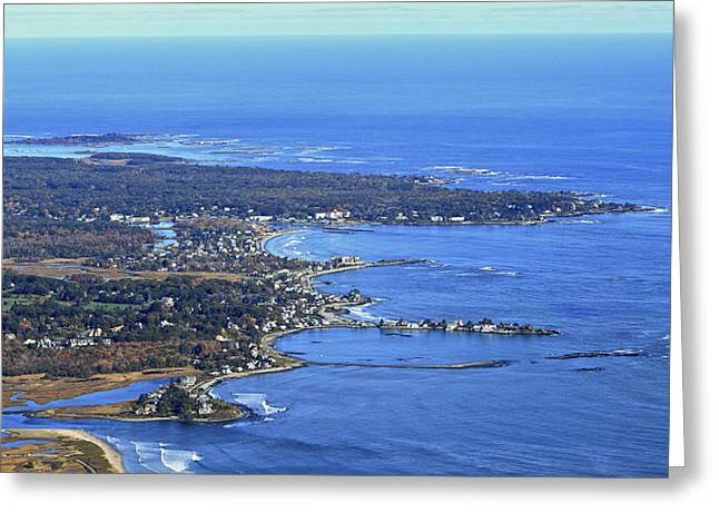 Maine Beach Greeting Cards - Wells, Maine Greeting Card by Dave Cleaveland