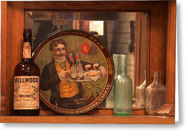 Photography Of Liquor Greeting Cards - Wellwood Whisky Greeting Card by Mike Flynn