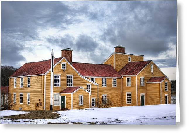 Historic Home Greeting Cards - Wentworth Coolidge Mansion Greeting Card by Eric Gendron