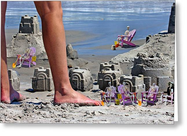 We're Moving In Greeting Card by Betsy C Knapp