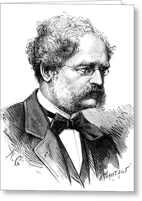 Electrolytic Greeting Cards - Werner Siemens, German engineer Greeting Card by Science Photo Library