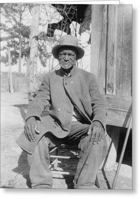 Ex-slave Greeting Cards - Wes Brady Greeting Card by Celestial Images