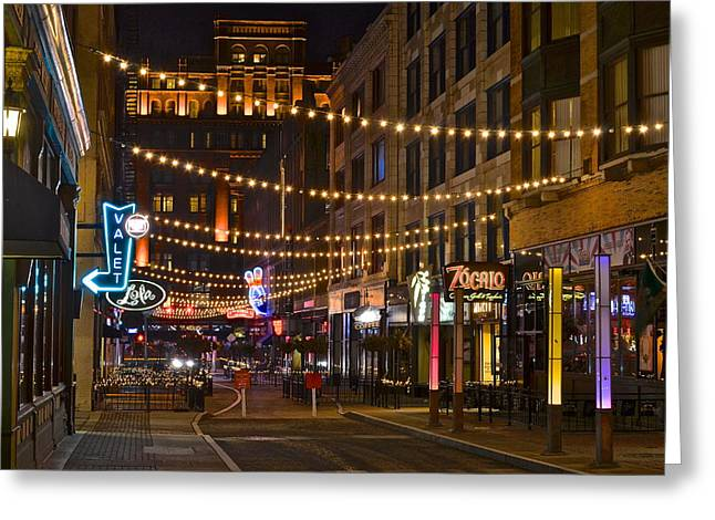 Prospects Greeting Cards - East 4th and Prospect Greeting Card by Frozen in Time Fine Art Photography