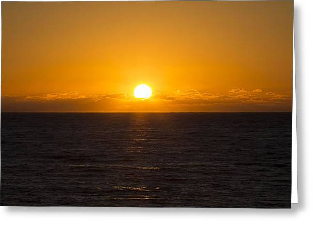 Cambria Greeting Cards - West Coast Sunset Cambria California Greeting Card by Jose M Beltran