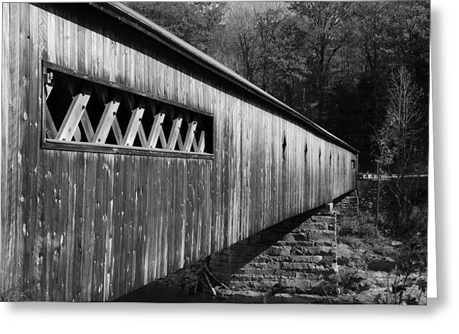 Road Travel Greeting Cards - West Dummerston Covered Bridge Greeting Card by Luke Moore