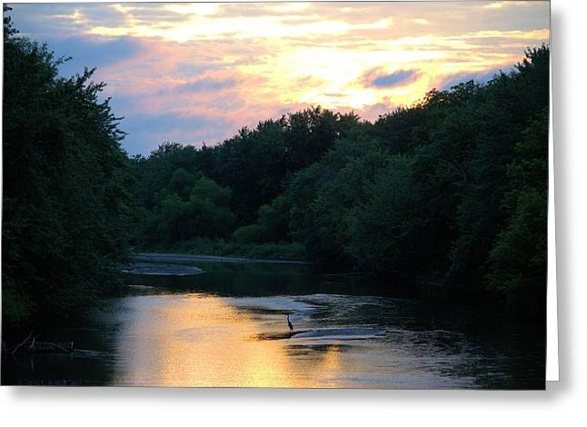 West Fork Greeting Cards - West Fork Sunset Greeting Card by Bonfire Photography