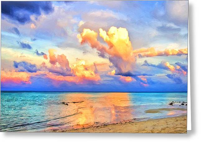 Lahaina Greeting Cards - West Maui Sunset Greeting Card by Dominic Piperata