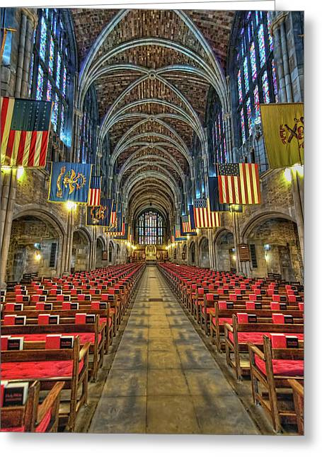West Point Cadet Chapel Greeting Card by Dan McManus