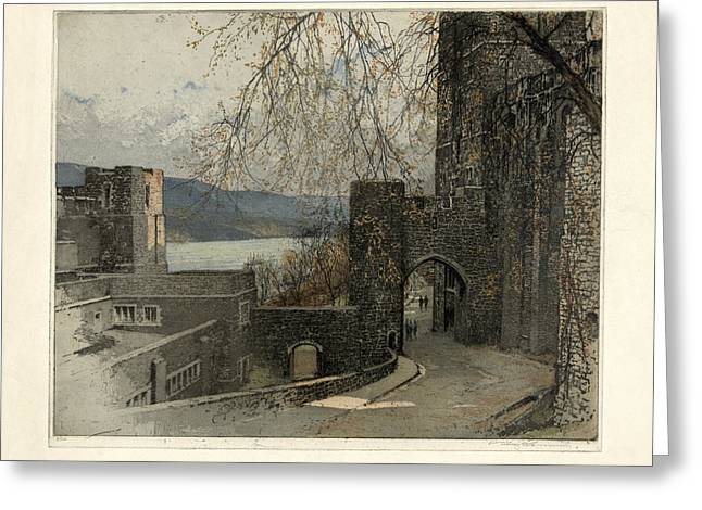 Engraving Digital Greeting Cards - West Point Greeting Card by Gary Grayson
