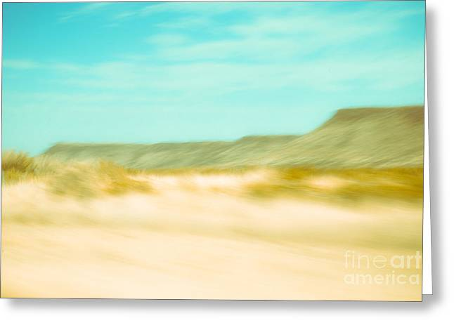 Sonja Quintero Greeting Cards - West Texas Blur Greeting Card by Sonja Quintero