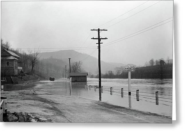 West Virginia Flood, 1939 Greeting Card by Granger