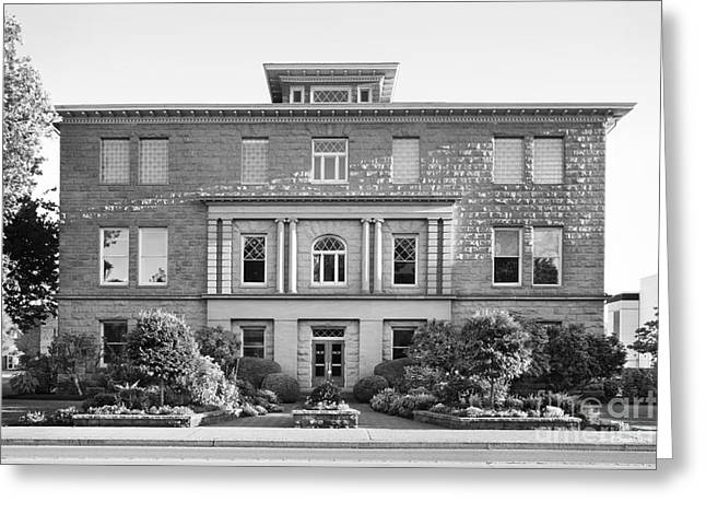 Occasion Greeting Cards - Western Christian University Goodrich Building Greeting Card by University Icons
