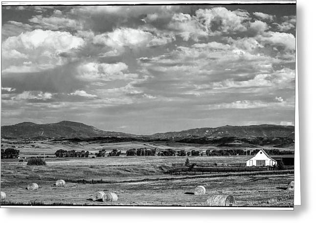 Power Plant Framed Prints Greeting Cards - Western Colorado Ranch Greeting Card by John McArthur