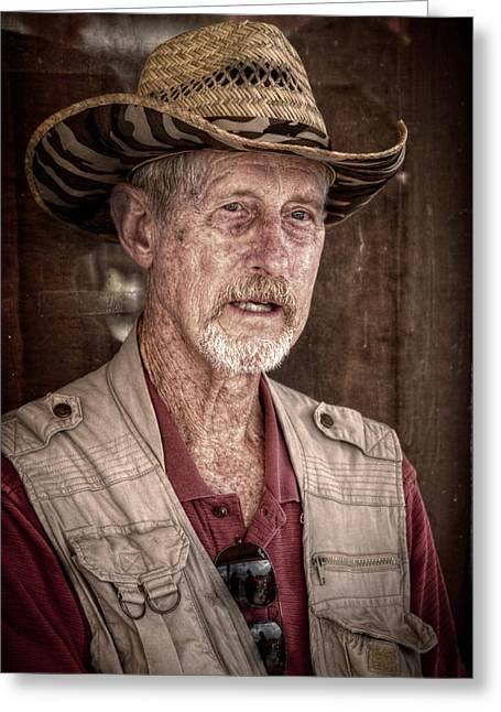 Western Photographer Greeting Card by Linda Unger