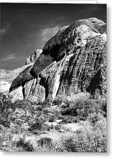 Contemporary Western Fine Art Greeting Cards - Western Sites Greeting Card by John Rizzuto