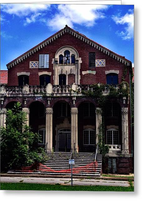 Architectur Greeting Cards - Western State Mental Facility #1 Greeting Card by Penny King-Clark