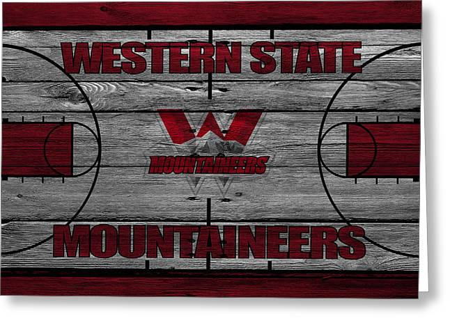 Western States Greeting Cards - Western State Mountaineers Greeting Card by Joe Hamilton