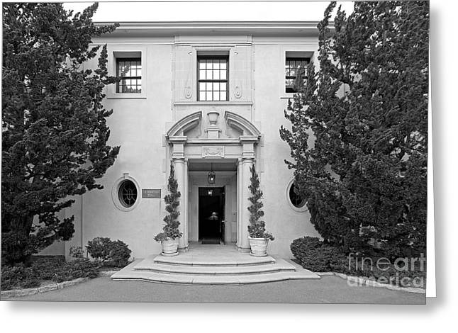 Santa Barbara Art Greeting Cards - Westmont College Kerrwood Hall Greeting Card by University Icons