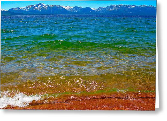 Ocean Art Photography Greeting Cards - Westward Greeting Card by Michael Blesius