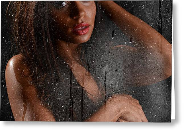 Wet 2 Greeting Card by Jt PhotoDesign