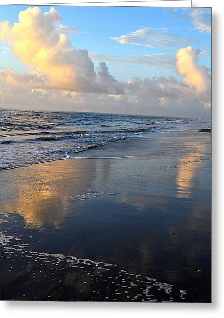 North Carolina Greeting Cards - Whalehead Beach Greeting Card by James Chesnick