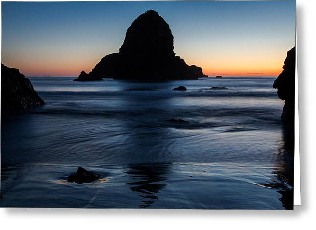 John Daly Greeting Cards - Whaleshead Beach Sunset Greeting Card by John Daly