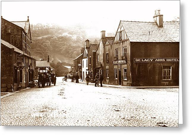 Whalley Greeting Cards - Whalley England Greeting Card by The Keasbury-Gordon Photograph Archive