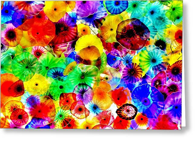 Bellagio Greeting Cards - What a Ceiling Greeting Card by Benjamin Yeager