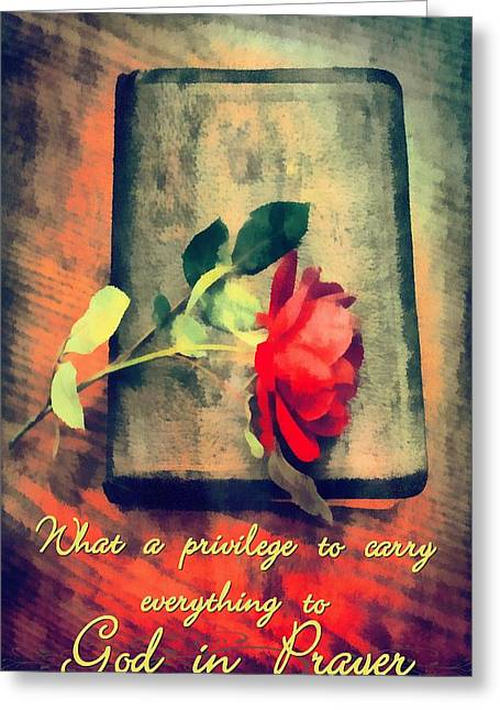 Privilege Greeting Cards - What A Privilege Greeting Card by Michelle Greene Wheeler