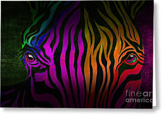 What Are You Looking At 2 Greeting Card by Peter Piatt