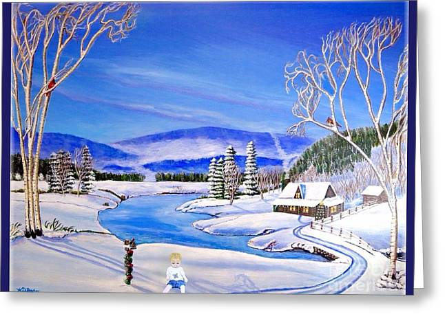 Next To Tree Greeting Cards - What Doesnt Belong in this Picture Greeting Card by Kimberlee  Baxter